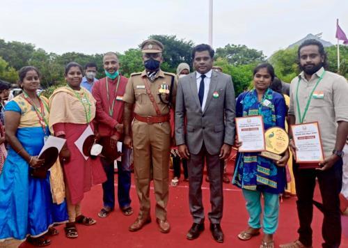 Auszeichnung für Madhan und das Regenboog-Team